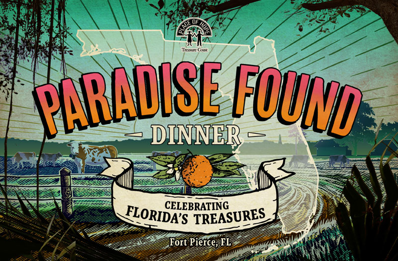 Paradise Found Dinner Event